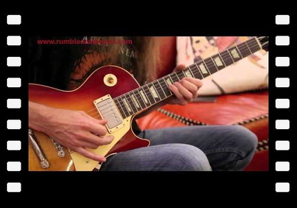 Mike Hickey plays a 1958 Gibson Les Paul Standard