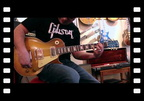 Mike Araiza plays a 1959 Gibson Les Paul Standard at Rumble Seat Music Southwest