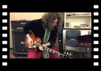 J.D. Simo playing Tom Wittrock's iconic 1959 burst Donna...