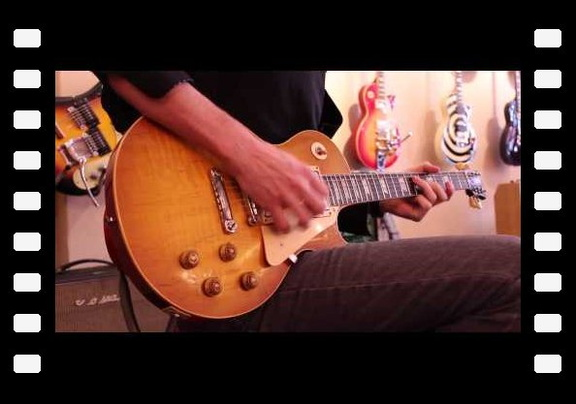 Ryan McGarvey plays a 1959 Gibson Les Paul Standard at Rumble Seat Music Southwest