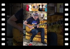 Greg Koch plays 1959 Les Paul Standard (Danger Burst)