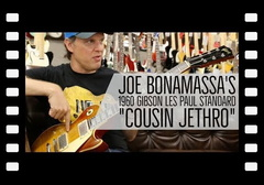 "Joe Bonamassa's 1960 Gibson Les Paul Standard ""Cousin Jethro"" at Norman's Rare Guitars"