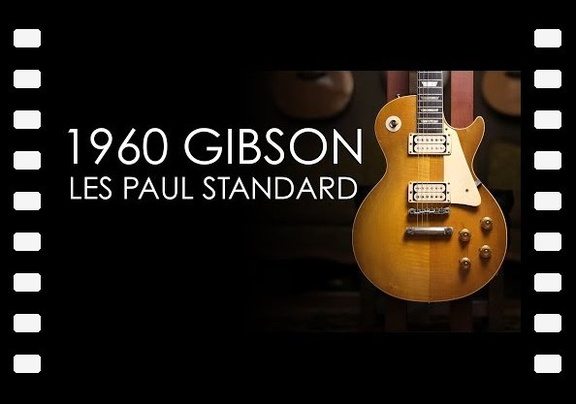 """Pick of the Day"" - 1960 Gibson Les Paul Standard"